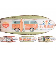 3 assorted designs, blue, orange and yellow Campers