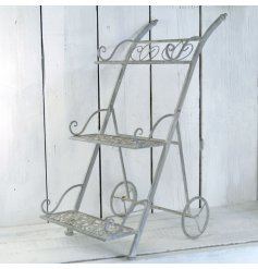 This beautiful 3 tier standing display unit will look beautiful in any home or garden.