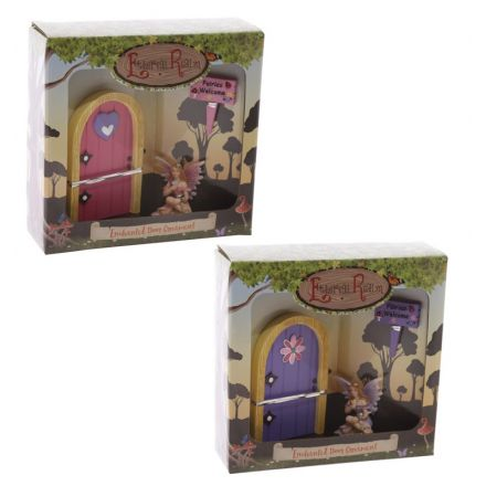 Fairyland fairy door gift set 2a 33193 outdoor living for Fairy door gift set