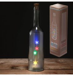 Bring to your home a magical and colourful glow with this quirky large light up bottle