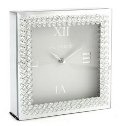 This beautiful picturesque diamante clock from the Leonardo Range is sure to turn heads while displayed in your home