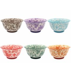 Oriental Bowls - set of 6