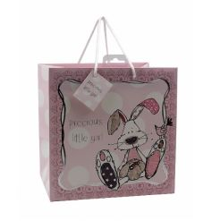 An adorable rabbit design gift bag from the popular Little Miracles range.