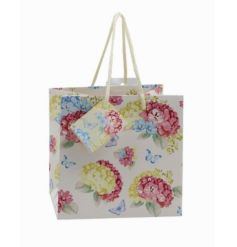 A beautiful and colourfully themed floral gift bag, perfect for any occasion