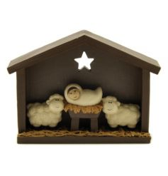 A cute nativity decoration. A must have for the Christmas season.