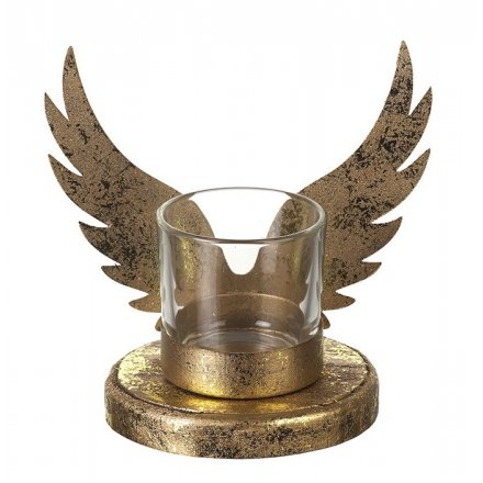Angel Wing T-light Holder