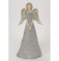 This beautiful standing angel will situate gracefully in any space she's put in