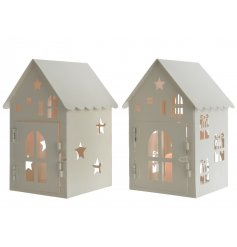 Sold in multiples of 2, star and present cut outs