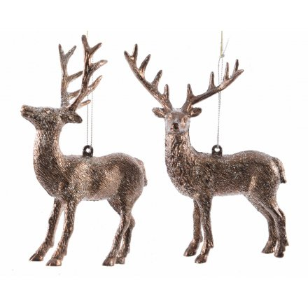 Hanging Bronze Deer