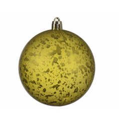 this bauble will hang perfect in any pure and warm themed tree