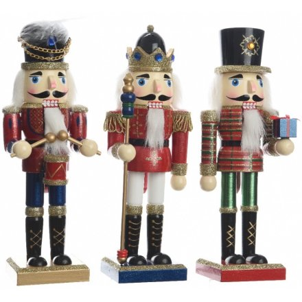 Mix of Wooden Nutcrackers