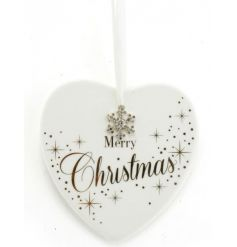 A fabulous heart shaped plaque with a Merry Christmas slogan. A great gift item from the Mad Dots range.