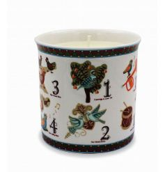 This fun cartoon ceramic candle pot will be a great way to produce a warm glow in any home space