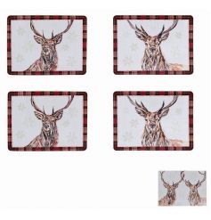 This beautiful set of coasters will be sure to bring a traditional touch to any kitchenware