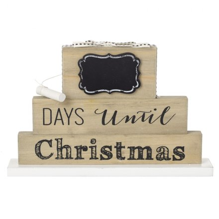 Christmas Countdown Block