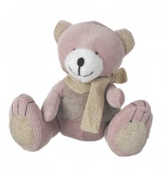 This huggable teddybear is just what any little princess needs to help her on her adventures