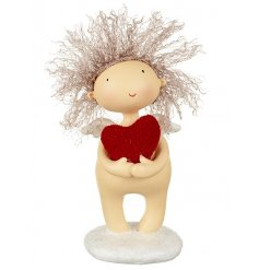 This sweet little nudy angel will be the perfect addition for any festive scene