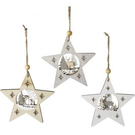 Reindeer Scene Star, 3a