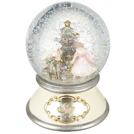 Christmas Snowglobes.Tm257 Nutcracker Snow Globe 34395 Christmas