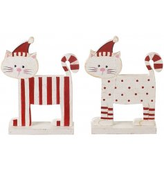 An assorted pair of spots and strips, these friendly creatures will be sure to top off your decorations this year
