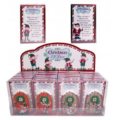 A mix of 2 miniature elf doors with a letter to Santa. A must have this season!