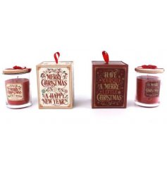 An indulgent assortment of 'Spiced Apple Cinnamon' and 'Roasted Chestnuts'