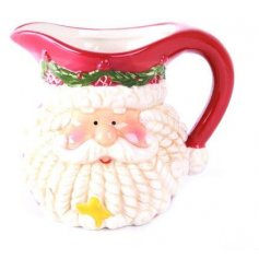 A colourful Christmas design jug with fantastic detail. Perfect for serving up sauces with your Christmas dinner!