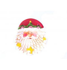 A charming Father Christmas design plate with lots of fantastic detail. A great novelty item!