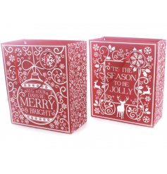 Add to your gift giving the sweet touches of christmas with these beautifully themed festive gift bags