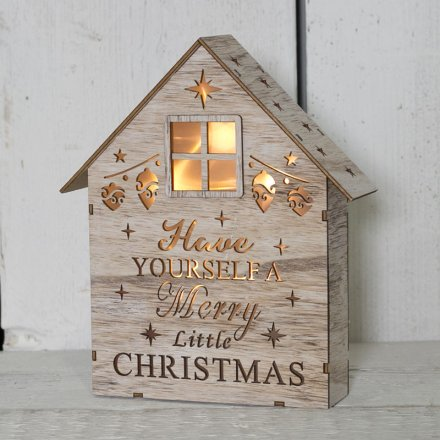 Led Wall Free Standing Nordic Elf Wood Picture With Led Back Lights
