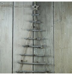 This quirky alternative styled christmas tree is perfect for any home with not a lot of space!