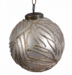This beautiful set of luxury baubles will be sure to add elegance to your tree this year