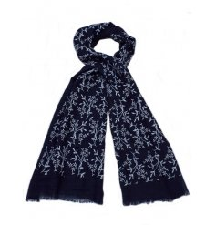 A pretty floral design scarf. A chic gift item and fashion accessory.