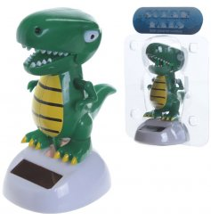 Quirky novelty solar pal in the form of a T-Rex