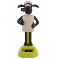 Watch cheeky Shaun the Sheep wiggle about the sun