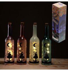 Bring a comforting glow to any bedroom with these fairy themed bottles,