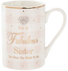 This sleek and beautiful mug from the mad dots range is a perfect gift to give or receive