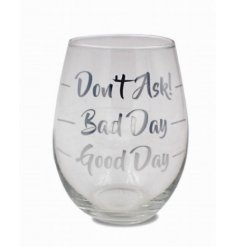 Let your glass do the talking after a long day of work