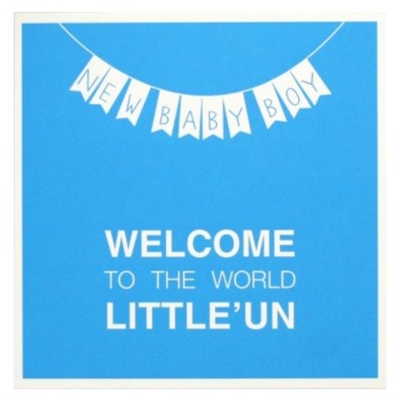 Welcome baby boy greeting card 34799 occasions new baby this new baby boy card welcomes a new born to the world in those exact words m4hsunfo