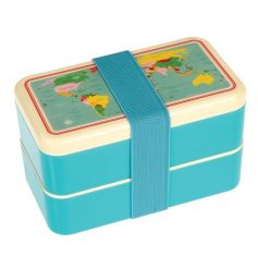 A practical and super cool adult Bento Box from the popular World Map range. Perfect for your travels.