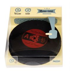 A set of 6 retro record coasters from the Modern Man range. A great gift item and home accessory.