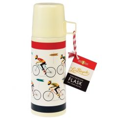 This stylish Le Bicycle design lunch flask is perfect for those long cycling journeys!