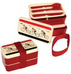 A practical and super cool adult Bento Box from the popular Le Bicycle range.
