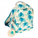 A fun and fabulous Mini Elvis the Elephant children's backpack, complete with a carrying handle