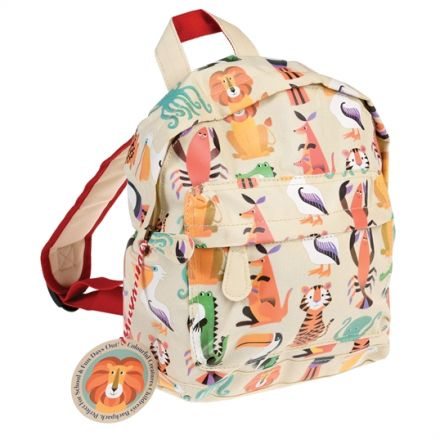 A fun animal design mini backpack from the popular Colourful Creatures range.
