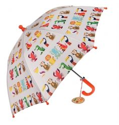 Keep your little ones dry with this fabulous and fun children's umbrella in the popular Colourful Creatures design.