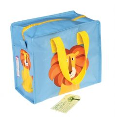 A colourful and practical lion design storage/lunch bag from the popular Colourful Creatures range.