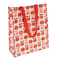 A stylish, practical and eco-friendly shopper in the popular Vintage Apple design. Made from recycled bottles!
