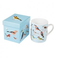 A beautiful ceramic mug with a fine quality gift box. A lovely gift item.