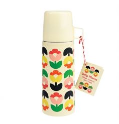 A stylish and colourful Tulip Bloom design flask making the perfect gift for those who are on the go!